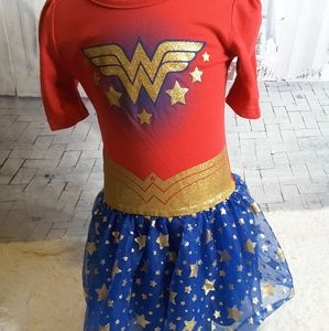 3/$30 DC Comics Wonder Woman Halloween dress 5T